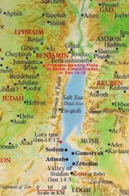 mrtvo more mapa Sodoma i Gomora: jesu li stvarno postojala ta dva grada?   Page 4  mrtvo more mapa