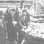Izlov ribe sa ribnjaka u Prijedoru A.Burda (oko 1932.godine)