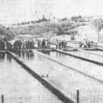 Otvaranje novog dijela ribogojilišta u Blagaju u februaru 1975.godine.