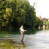 Una flyfishing revir Plandiste 5