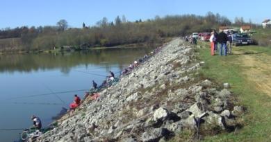 """Jezero Gradina u Prijedoru - Prva liga Bosne i Hercegovine """"Lov ribe udicom na plovak"""""""