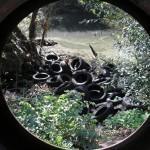 Deponija guma na Leđenici