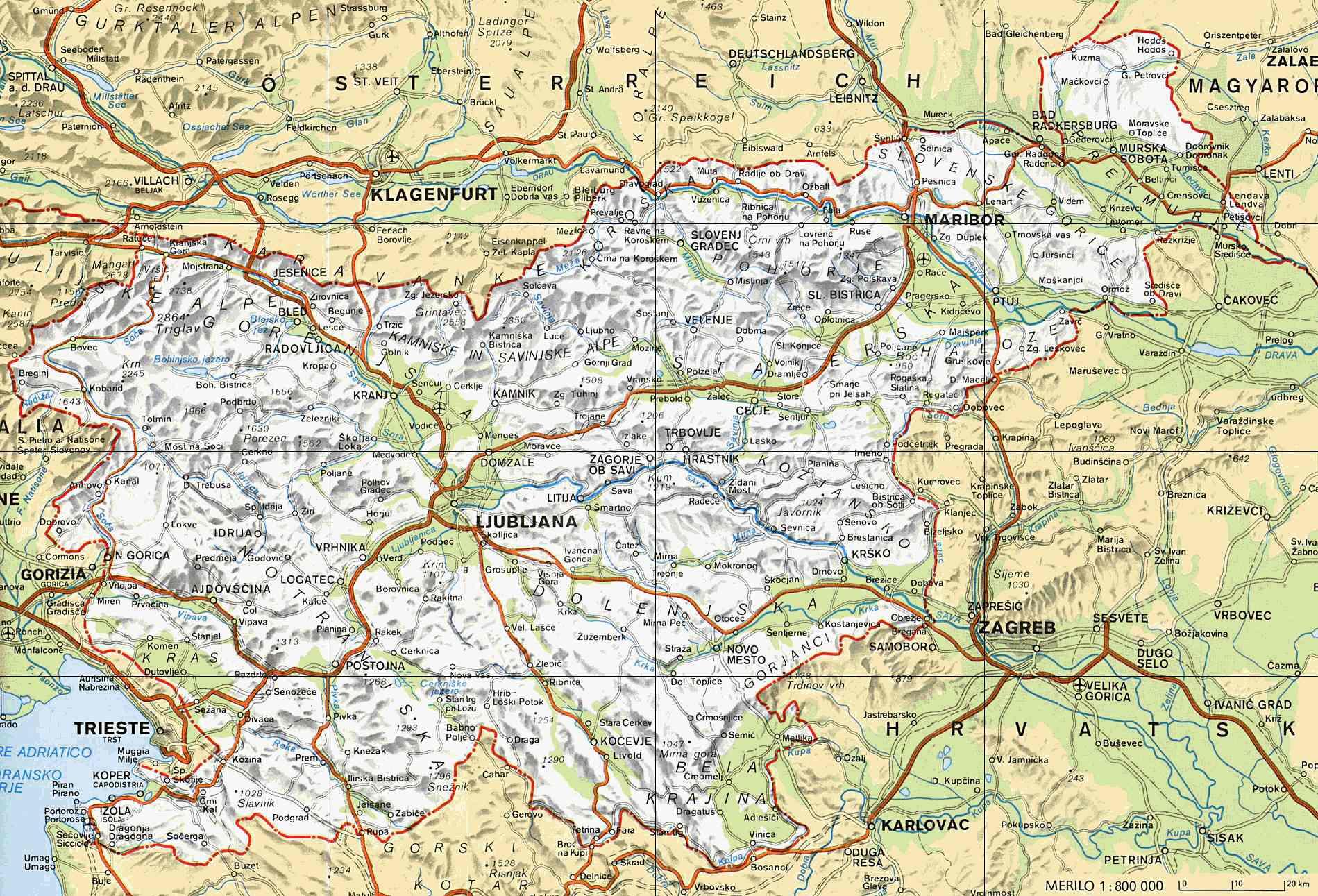 karta srbije i bosne i hercegovine Auto karte zemalja iz regije | Portal o ribolovu i zaštiti okoline  karta srbije i bosne i hercegovine