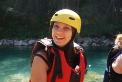 Lela Despotovska iz Skoplja uživa u spustu niz Taru (1)