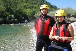 Zaljubljeni iz Skoplja, Lela Despotovska i Laze  Krstevski uživali u kanjonu Tare
