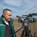 Rade Ivanović, na  jednom od bezbroj radnih zadataka u projektu Dokumentarni TV serijal Zelena patrola na delu