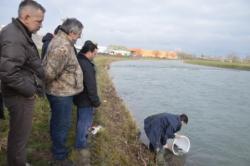 Ž7=#Ss jučerašnjeg poribljavanja rijeke Željeznice na Ilidži# ( Foto, I. BAJROVIĆ)