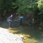 Misoča između brana JKP Vodostan