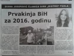 Diana Josipovic SIRK Bistro Tuzla
